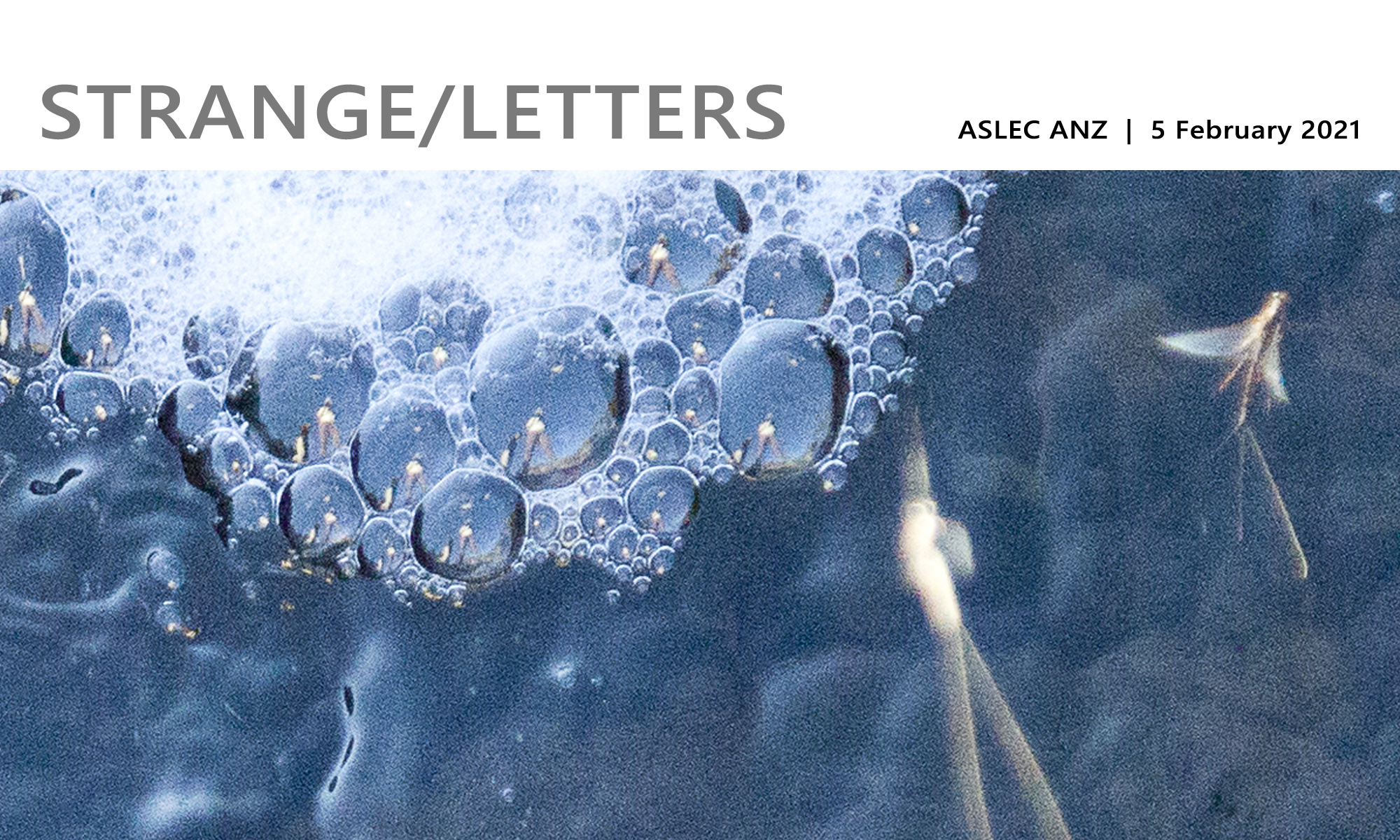 strange letters header