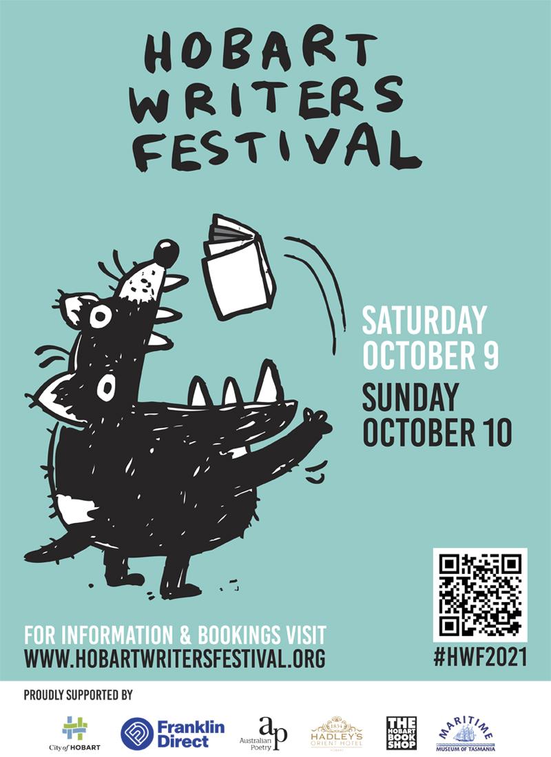 Hobart Writers Festival poster